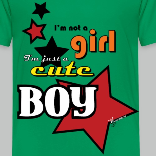 I'm not a girl I'm just a cute boy - pop