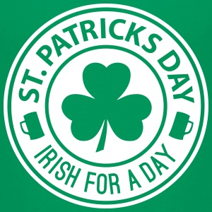 St Patricks Day - Irish For A Day 1C T-Shirts - Teenager Premium T-Shirt