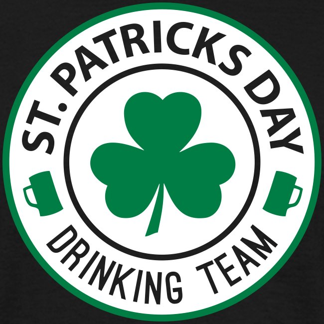St. Patrick's Day - Drinking Team T-Shirt