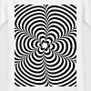 Optical illusion (Impossible) Black & White OP-Art Shirts - Kids' T-Shirt