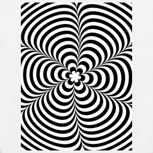 Optical illusion (Impossible) Black & White OP-Art Taschen & Rucksäcke - Bio-Stoffbeutel