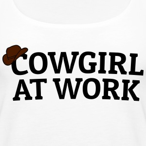 Cowgirls at work Tops - Women's Premium Tank Top
