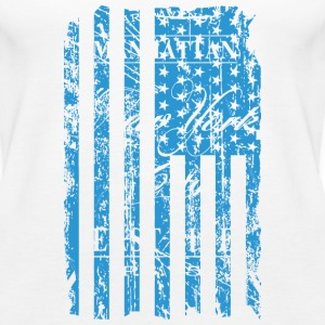USA - NewYork - Flag   Vintage Look Tops - Vrouwen Premium tank top