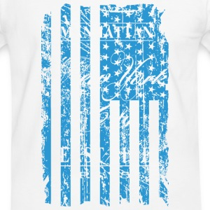 USA - NewYork - Flag   Vintage Look T-Shirts - Men's Ringer Shirt