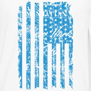 USA - NewYork - Flag   Vintage Look Long sleeve shirts - Men's Premium Longsleeve Shirt