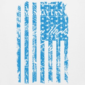 USA - NewYork - Flag   Vintage Look Tank Tops - Men's Premium Tank Top