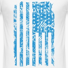 USA - NewYork - Flag   Vintage Look T-Shirts