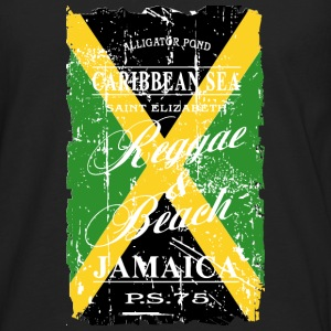 Jamaica Flag - Vintage Look Long sleeve shirts - Men's Premium Longsleeve Shirt