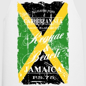 Jamaica Flag - Vintage Look  Aprons - Cooking Apron