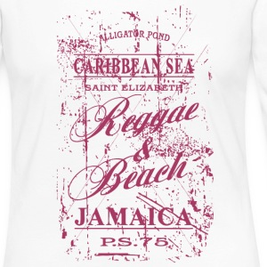 Jamaica  - Vintage Look Long Sleeve Shirts - Women's Premium Longsleeve Shirt