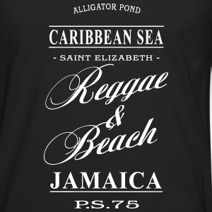 Jamaica - Reggae & Beach Long sleeve shirts - Men's Premium Longsleeve Shirt