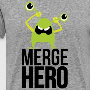 Monster Merge Hero T-shirts - Herre premium T-shirt
