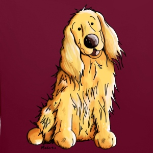Heureux Cocker Spaniel Sweat-shirts - Sweat-shirt contraste