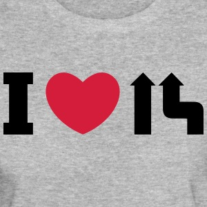 I love merge T-Shirts - Women's Organic T-shirt