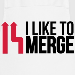 I love merge  Aprons - Cooking Apron