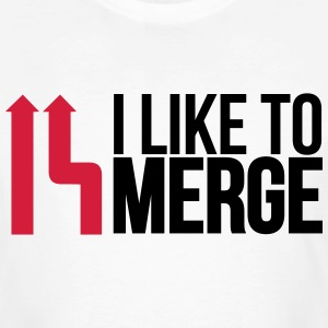 I love merge T-Shirts - Men's Organic T-shirt