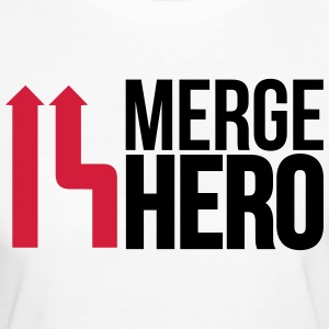 merge_hero9_2f T-Shirts - Women's Organic T-shirt