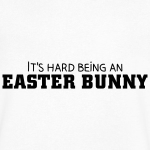 It's hard being an Easter Bunny T-shirts - T-shirt med v-ringning herr