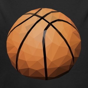 BASKETBALL Baby Bodys - Baby Bio-Langarm-Body