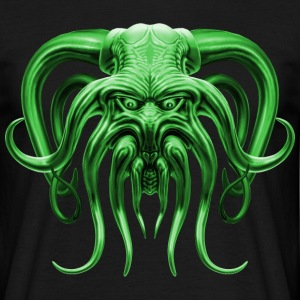 Cthulhu Green Men's T-Shirt - Men's T-Shirt