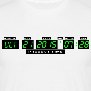 Welcome Back in the Future - 21. Oktober 2015 7:28 - Männer T-Shirt