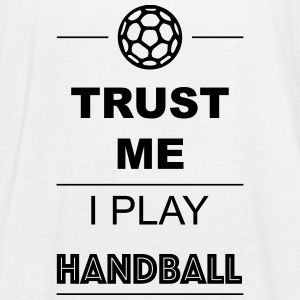 Trust me I play Handball 1c Tops - Vrouwen tank top van Bella