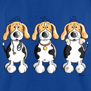 Beagle Trio T-Shirts - Kinder T-Shirt