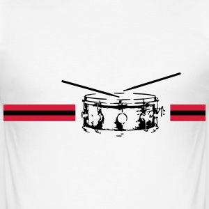 Snare drum - Männer Slim Fit T-Shirt