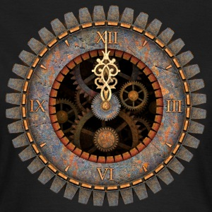 Vintage Steampunk Clock #1 Women's T-Shirt - Frauen T-Shirt