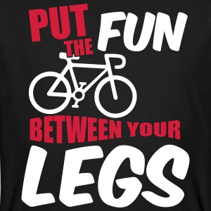 Put the fun between your legs T-shirts - Ekologisk T-shirt herr