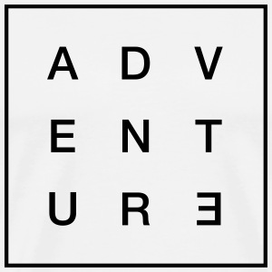 Adventure T-shirts - Herre premium T-shirt