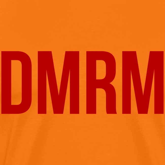 DMRM Large & Text on Back