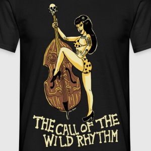 Call of the wild rhythm - Männer T-Shirt