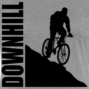 Bike Downhill T-skjorter - Premium T-skjorte for kvinner