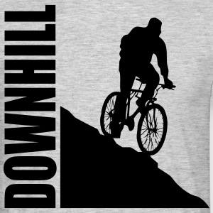 Bike Downhill T-shirts - T-shirt herr
