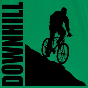Bike Downhill T-shirts - Herre premium T-shirt