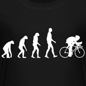 Evolution Bike T-shirts - Teenager premium T-shirt