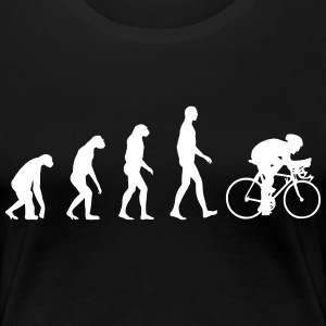 Evolution Bike T-shirts - Dame premium T-shirt