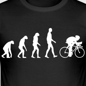 Evolution Bike T-shirts - Slim Fit T-shirt herr