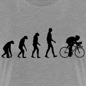 Evolution Bike T-Shirts - Frauen Premium T-Shirt