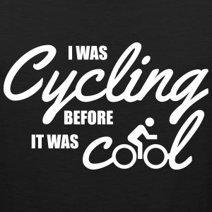I was cycling before it was cool Tank Tops - Männer Premium Tank Top