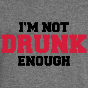 I'm not drunk enough Hoodies & Sweatshirts - Women's Boat Neck Long Sleeve Top