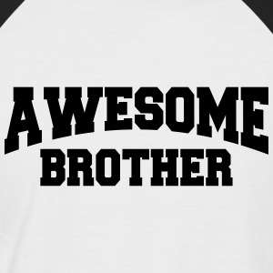 Awesome Brother Tee shirts - T-shirt baseball manches courtes Homme