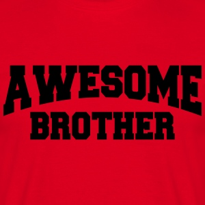 Awesome Brother T-skjorter - T-skjorte for menn