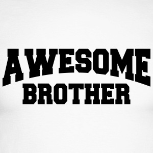 Awesome Brother Manches longues - T-shirt baseball manches longues Homme
