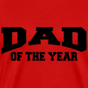 Dad of the year T-shirts - Mannen Premium T-shirt