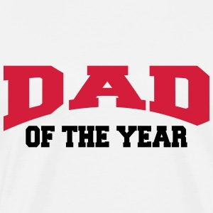 Dad of the year Camisetas - Camiseta premium hombre