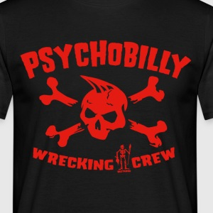 Psychobilly Wrecking Crew - Männer T-Shirt