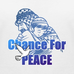Chance For Peace T-Shirts - Women's V-Neck T-Shirt