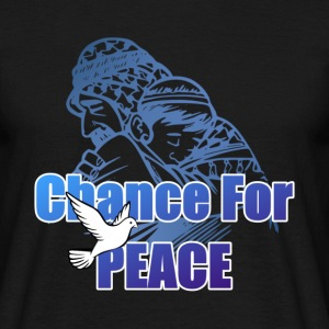 Chance For Peace T-Shirts - Männer T-Shirt